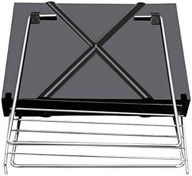ruihong en Plein Air Mini Barbecue Barbecue Grill X-Type Grill Pliant Barbecue Portable Ménage Convient pour 1-3 Personnes Charbon De Carbone Grill
