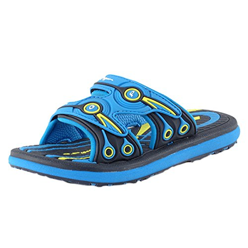 GP Classic Adjustable Slide Sandals: 7526 Blue Navy, EU28