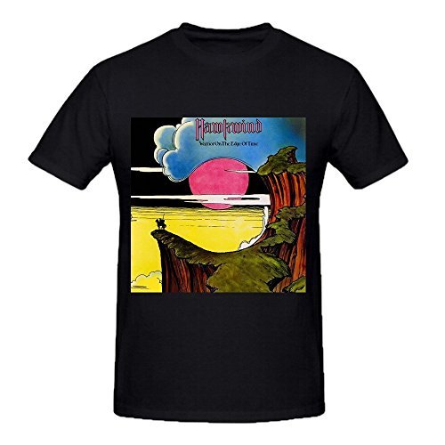 Hawkwind Warrior On The Edge Of Time Funny Tee Shirts For Men Black