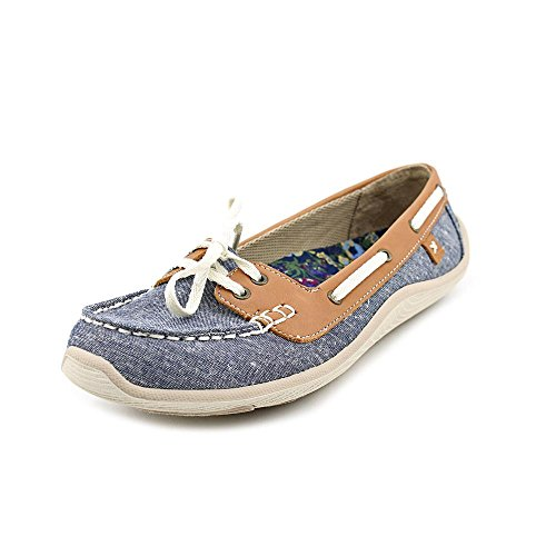 Dr. Scholl's Women's Chambray Washed Twill Dr. Scholls Jester 11 B(M) US