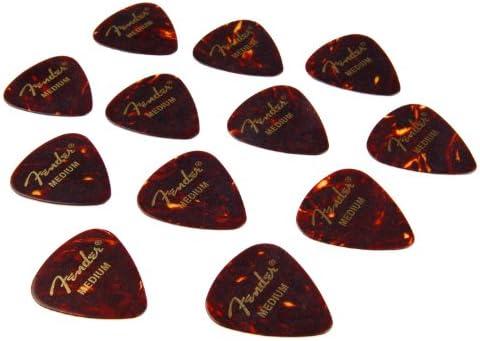 Fender 351 - Púa par guitarra (mediana, 12 unidades): Amazon.es ...
