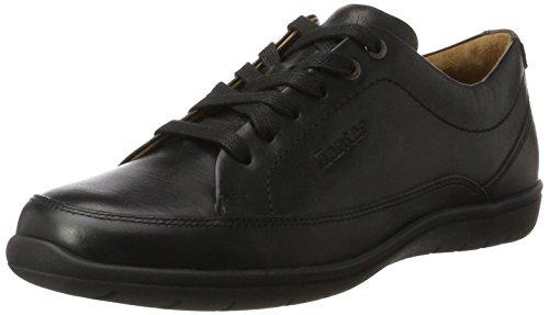 Zapatos Derby Negro Mujer Ganter para de Cordones g Schwarz Gill 7xwfAqEv
