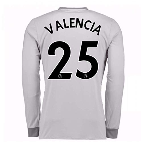2017-2018 Man United Long Sleeve Third Football Soccer, used for sale  Delivered anywhere in USA