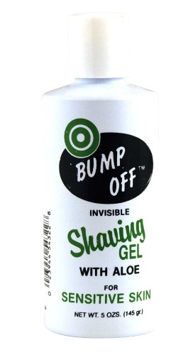 Bump Off Shave Gel 5 oz. (Pack of 6) by Bump Off