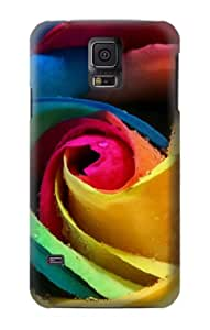 S0537 Rose Color Case Cover For Samsung Galaxy S5