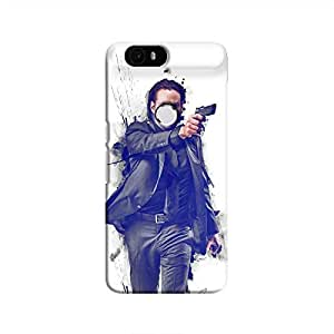 Cover It Up - John Wick Fade Nexus 6P Hard Case