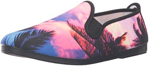 donna On Da Tropical Slip San Sneaker Nero Sebastian Flossy OrqBwqYdA