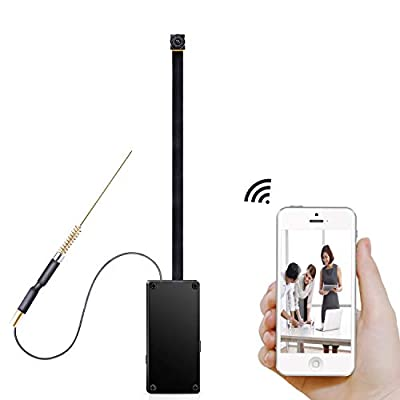 GZDL Mini Spy Camera WiFi - Small Hidden Cameras Wireless - Tiny Nanny Can HD 1080P - Covert Home Monitoring - Security Surveillance Cams with Cell Phone iPhone App by DingLin