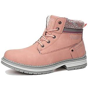 ARRIGO BELLO Bottes Femme Bottine Bottes de Neige Boots Hiver Chaussures Chaudes Fourrure Randonnée Les Loisirs 36-41