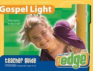 Amazoncom Gospel Light Preteen Grade 5 6 Teacher Guide Sunday