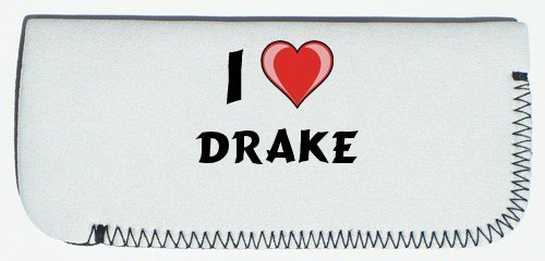 Glasses Case with I Love Drake (first name/surname/nickname) SHOPZEUS