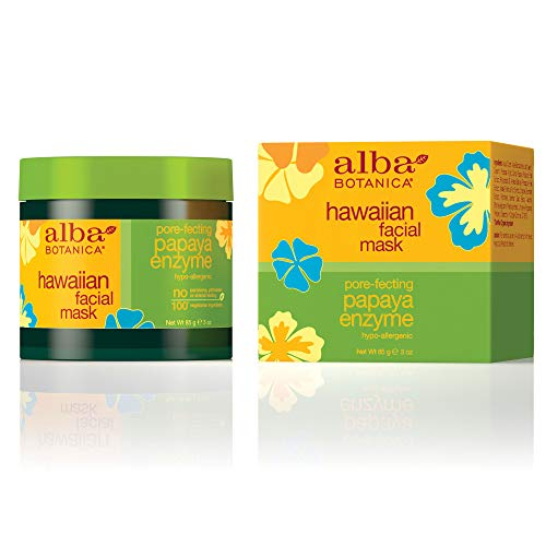 (Alba Botanica Pore-Fecting Papaya Enzyme Hawaiian Facial Mask, 3 oz.)