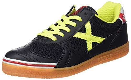874 Munich Noir Negro Adulte de 3 Chaussures Fitness G Mixte Indoor Amarillo qwnPfr7Zq