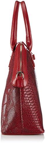 Valentino VANITAS - Bolso de mano de piel sintética mujer rojo - Rot (Rosso)