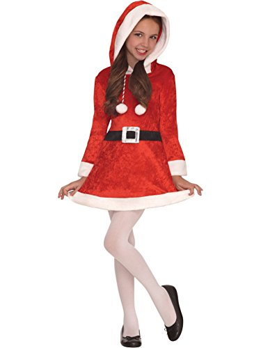 Christmas Darling Costume for Kids LARGE (Mrs Claus Christmas)