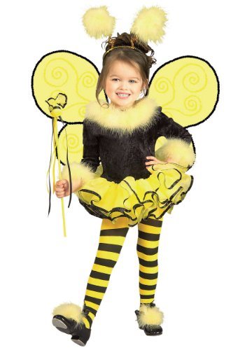 Rubies Bumblee Bee Child Girls Halloween Costume | (Girl In A Bee Costume)