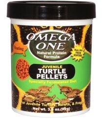 Omega One Juvenile Turtle Pellets (Baby Turtle Food)