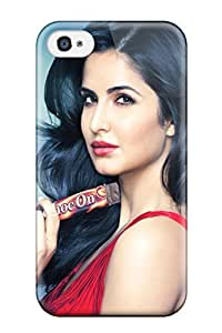 Best 5061744K91945434 High-end Case Cover Protector For Iphone 4/4s(katrina Kaif Choc On)