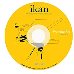 iKan Corporation ProPrompter 3.0 Software Yellow, (PP 3.0)