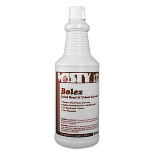 Misty R92512CT Bolex 23 Percent Hydrochloric Acid Bowl Cleaner, Wintergreen, 32oz (Case of 12) (Acid Cleaner Bowl)