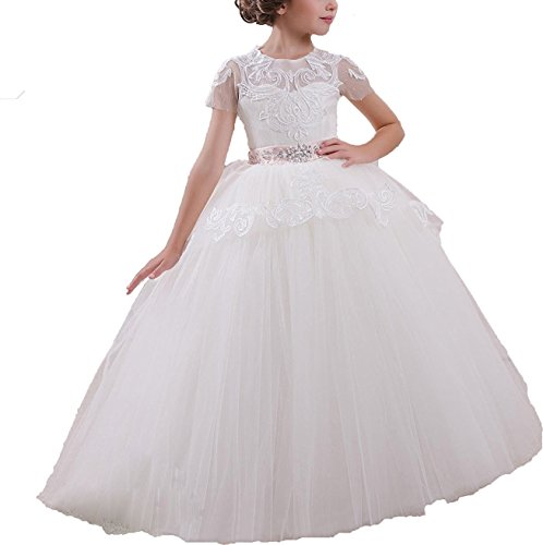 sound of blossoming NND Baby Princess Flower Girl's Dress Girl's Wedding GownWE12 by sound of blossoming