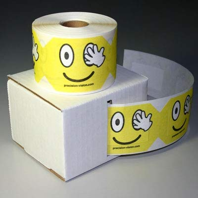 Temporary Eye Patch for Kids (Roll of 250 Patches) from Precision Vision