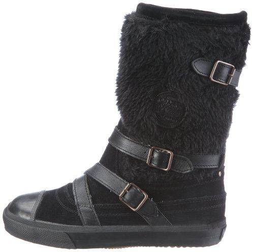 Botas B schwarz Eu Pepe London 244 Mujer Euston Para black Negro Lona Jeans De T16Yq1