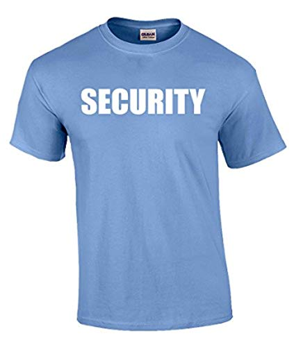 Security T-Shirt Printed On Both Sides-Carolina-XL