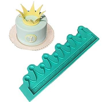 Amazon.com: Molde de silicona con forma de corona para ...