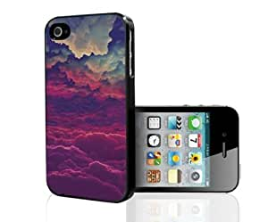 Purple Haze and Cloudy Dreams Hard Snap on Phone Case (iPhone 5/5s)