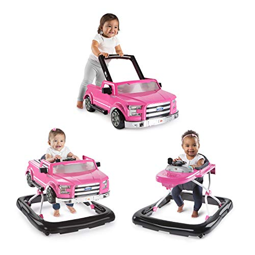 Bright Starts 3 Ways to Play Walker - Ford F-150, Pink, Ages 6 months + from Bright Starts
