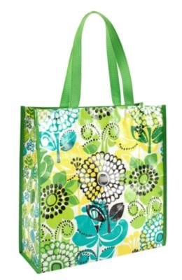 Vera Bradley Shopper Tote Lime's Up, Bags Central