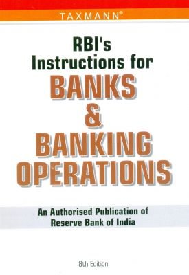 Buy rbi's instruction for banks and banking operations book online.