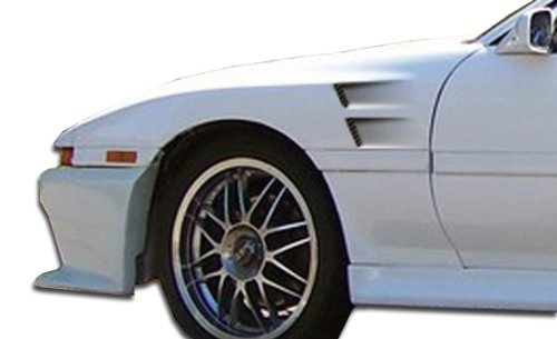 Duraflex ED-DEV-537 GT Concept Fenders - 2 Piece Body Kit - Compatible For Toyota Supra 1986-1992