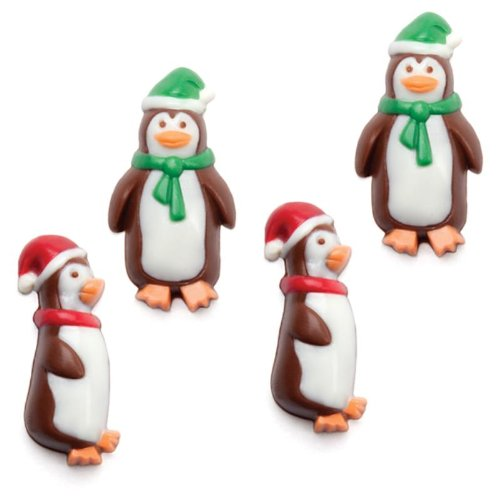 Make N' Mold 2158 Dress My Cupcake Holiday Penguin Minis Candy Mold