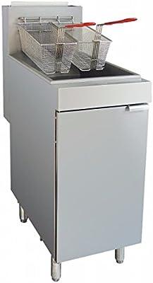 Hobart cocina soluciones nygf400-n Gas Natural 4 Tubo Independiente freidora, 21,3 L: Amazon.es: Industria, empresas y ciencia
