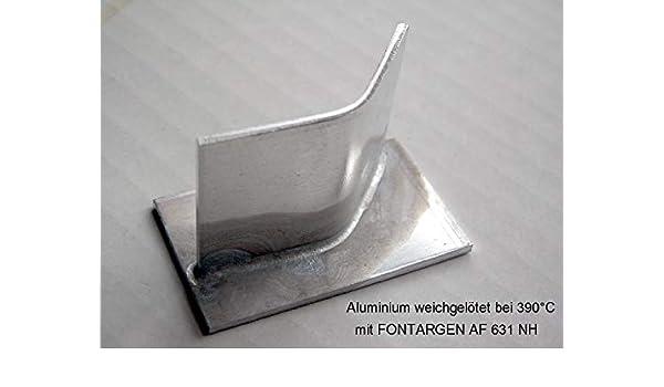 3 Metros aluminio Lot aluminiumweichlot znal de weichlot con alma fluitin: Amazon.es: Bricolaje y herramientas