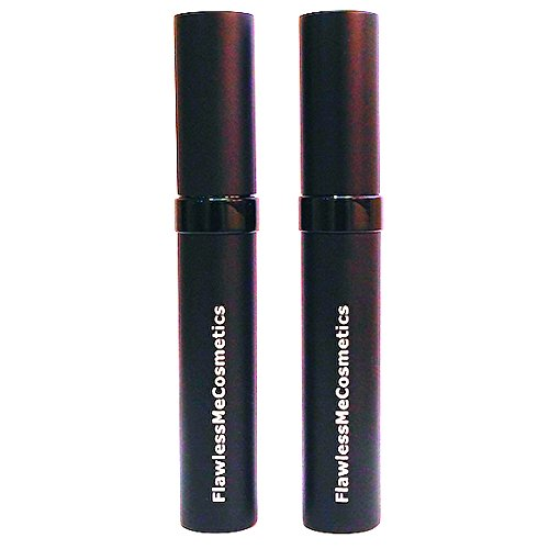 Flawless Me Cosmetics Mascara and Primer Creates Volume, Length and Fullness Without Clumping, Black, 2 Piece (L Oreal Double Extend Lash Boosting Mascara)
