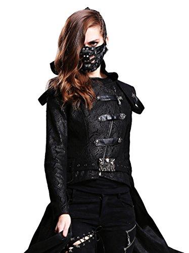 Steampunk Motorcycle Biker Ice Hockey Cycling Winter Face Mask Masquerade Masks (Victorian Face Masks)
