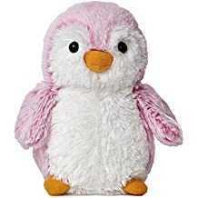 Aurora World Pom Pom Penguin Bright Pink Plush, 6""