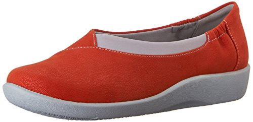 Clarks Womens Cloudsteppers Sillian Jetay Flat Grenadine