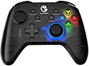 GameSir T4 pro Wireless Game Controller for Windows 7 8 10 PC/iOS/Android/Switch, Dual Shock USB Bluetooth Mob