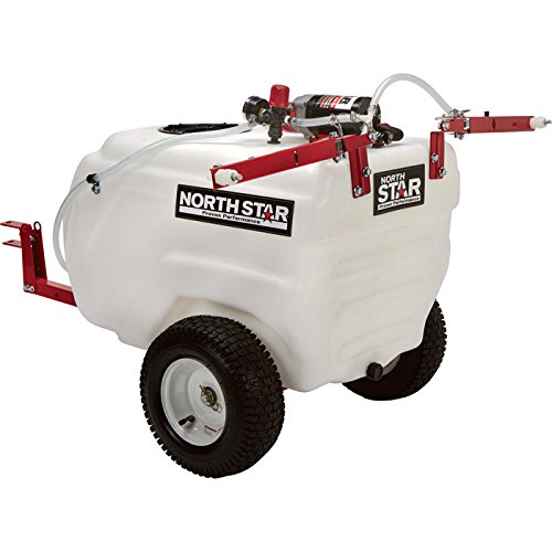 NorthStar Tow-Behind Boom Broadcast and Spot Sprayer - 31 Gallon, 2.2 GPM, 12 Volt DC