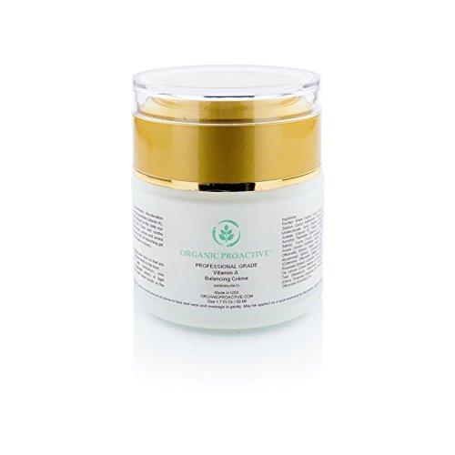 ORGANIC PROACTIVE, PROFESSIONAL GRADE, Vitamin A Balancing Crème (for Oily Skin), 1.7 Fl.Oz