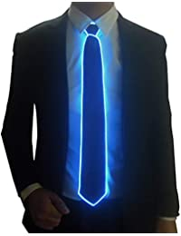 2f8ced9160ef Light Up Fanny Ties Novelty Necktie For Men LED Light Up Ties Costume  Accessory