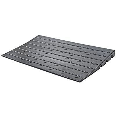 Silver Spring Rubber Solid Threshold Ramp - 600 lb Capacity