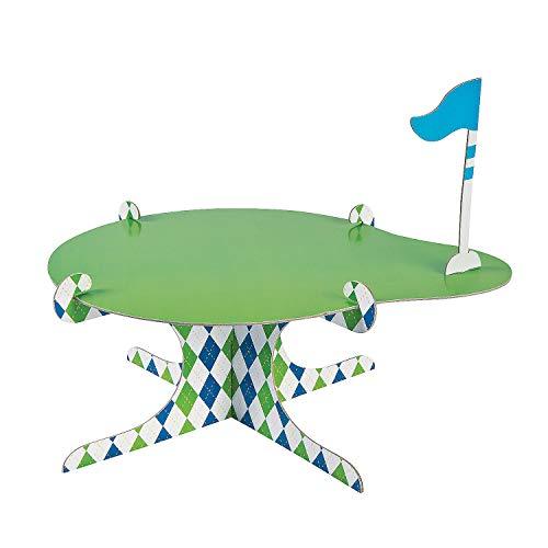 Fun Express - Golf PaR-Tee Cake Stand for Birthday - Party Supplies - Serveware & Barware - Misc Serveware & Barware - Birthday - 1 Piece]()