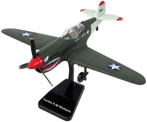 New Ray Curtiss P-40 Warhawk Plane Model Kit 1:48 Scale (Assembly Required)
