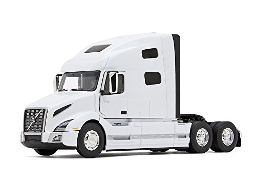 (First Gear 1/50 Scale Diecast Collectible White Volvo VNL 760 Sleeper Cab Tractor (#50-3372) )