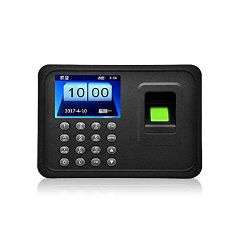 - OBO HANDS Fingerprint Attendance Machine LCD Display USB Biometric DC 5V/1A Time Clock Recorder Employee Checking-in Reader A6